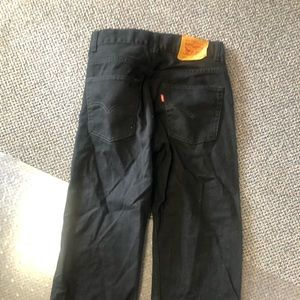 Boys 505 black Levis new never worn